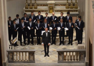 Claudio Riva and the Male Voices of Milan Cathedral's Choir